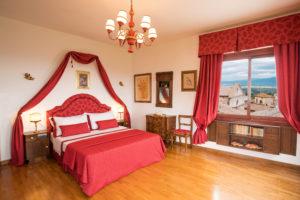 suite rossa dormire a montepulciano